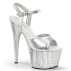 ADORE-709VLRS Silver Faux Leather